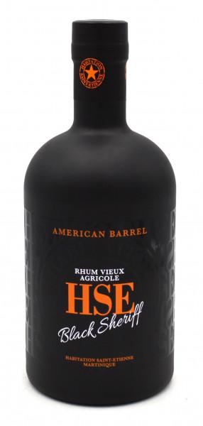 HSE Black Sheriff American Barrel Rhum Vieux Agricole
