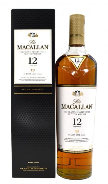 Macallan Sherry Oak 12 Jahre 0,7l