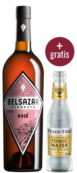 Belsazar Bundle (Belsazar Rosé 0.75l + Fever Tree Indian Tonic Water 0.2l for free)