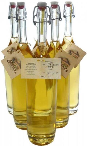 6 Flaschen Prinz Alte Williams Christ 0,5l im Holzfass gereift aus Österreich