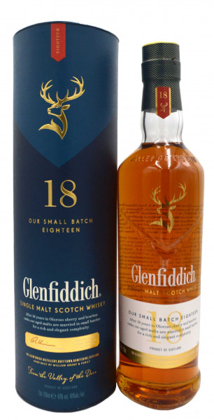 Glenfiddich Whisky 18 Years - Small Batch Reserve