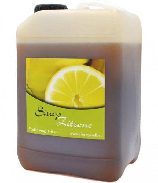 Alm Mand'l Zitronade ( Zitronen ) Sirup 3,0l Kanister