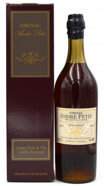 Andre Petit Cognac Jahrgang 1979 Alambic Classique