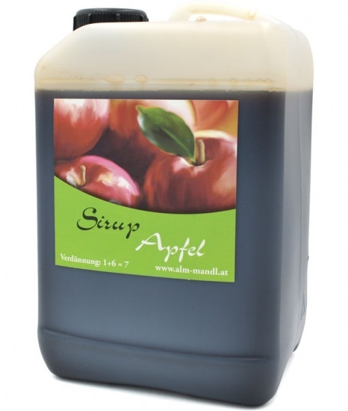 Alm Mand'l Apfel Sirup 3,0l Kanister