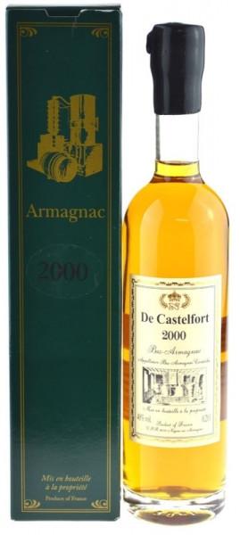 De Castelfort Armagnac Jahrgang 2000 - abgefüllt 2016 - 16 Jahre im Fass gelagert