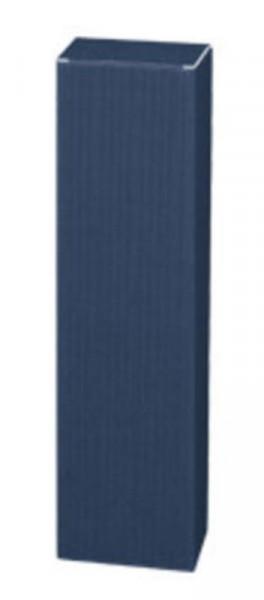 Faltschachtel Welle blau