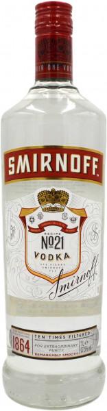 Smirnoff Vodka Red Label No.21