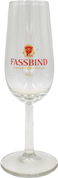 Fassbind goblets with measuring line 6x4cl