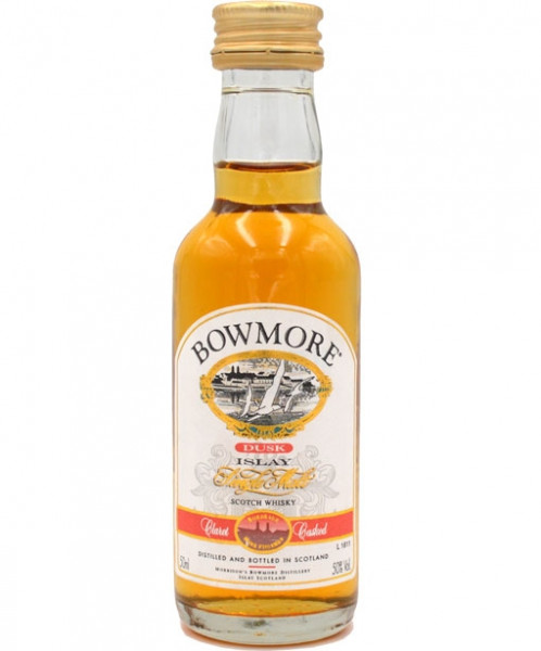 Bowmore Whisky Dusk 0,05l Miniatur 50% vol.,alte Ausstattung
