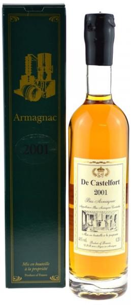 De Castelfort Armagnac Jahrgang 2001 - abgefüllt 2015 - 14 Jahre im Fass gelagert