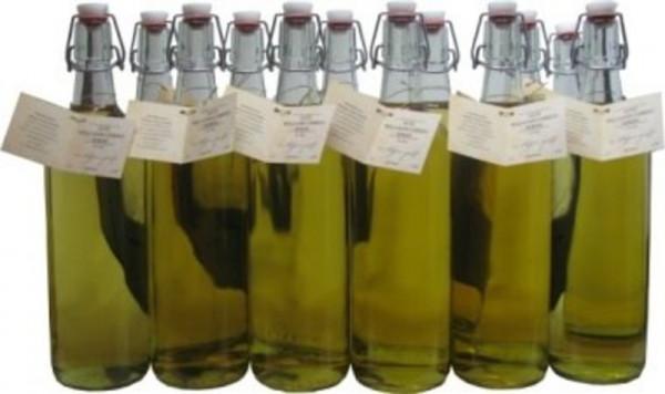 18 Flaschen Prinz Alte Williams Birnen Schnaps 1,0l im Holzfass gereift aus Österreich - 3,5% Rabatt