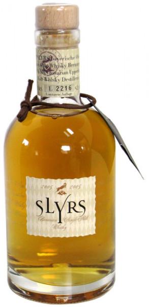 Slyrs Bayerischer Single Malt Whisky 0,35l Jahrgang 2005
