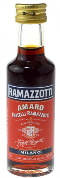 Ramazzotti Kräuterlikör Miniatur