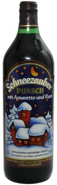 Schneezauber Punsch mit Amaretto und Rum
