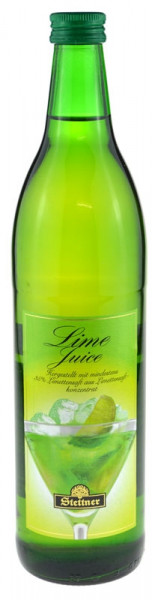 Lime Juice lime syrup 0.75l