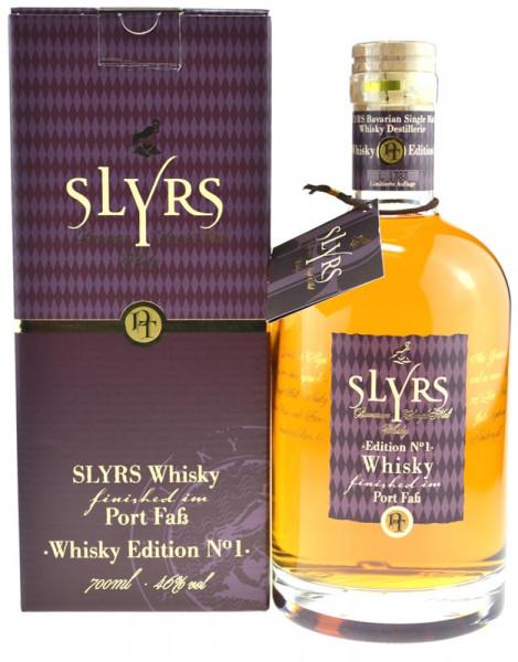 Slyrs Whisky finished im Port Faß Edition 1