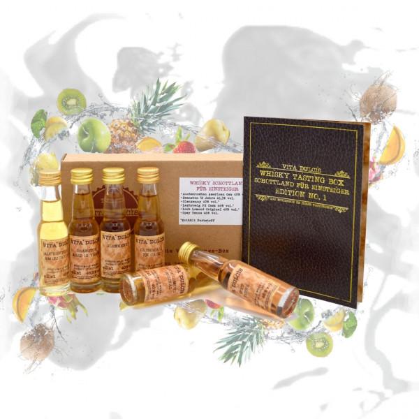 Whisky Tasting Box Schottland für Einsteiger 6x0,02l