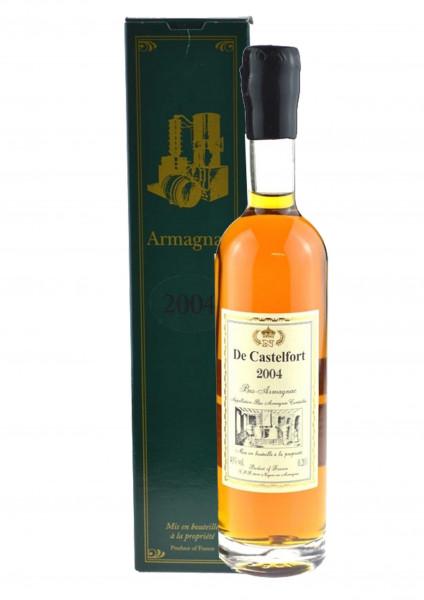De Castelfort Armagnac Vintage 2004 - bottled 2016 - 12 Years cask matured