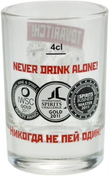 Tovaritch! Russian Vodka Shotglas