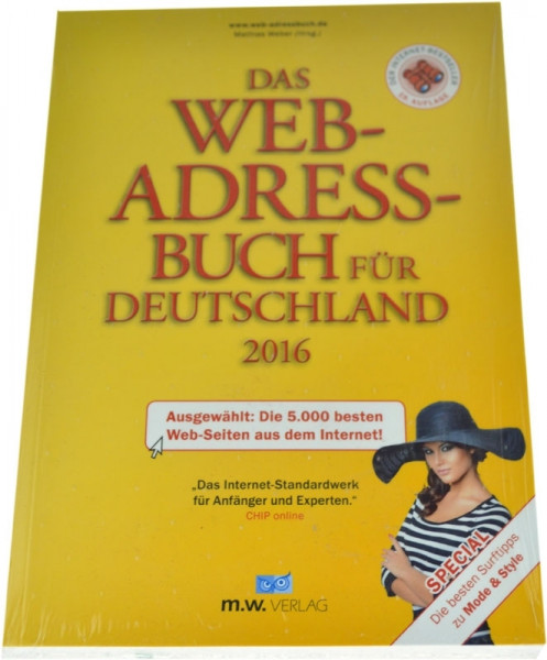The web address book for Germany 2016