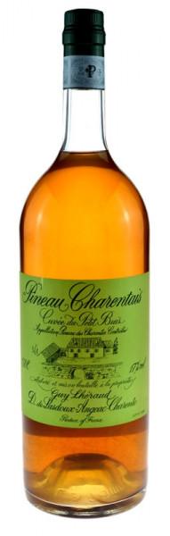 Lheraud 7 Jahre 1,5l Grossflasche - Pineau Charantais Cuvee mit Holzkiste
