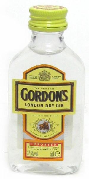 Gordon's Dry Gin Miniatur