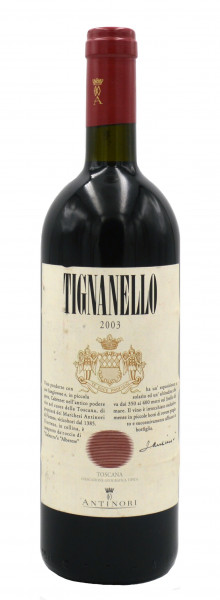 Tignanello Antinori IGT Jahrgang 2003