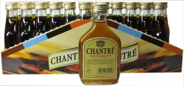 Chantre Taschenflasche 24x0,10l Weinbrand