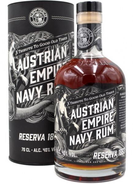 Austrian Empire Navy Rum Reserva 1863
