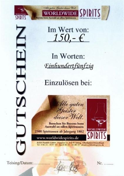 Gutschein 150,00 Euro