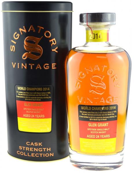 Glen Grant Jahrgang 1990 Cask Strength Collection - abgefüllt 2014 von Signatory