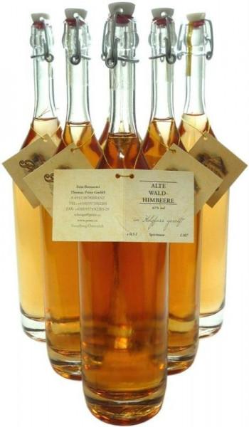 6 Flaschen Prinz Alte Waldhimbeere 0,5l - im Holzfass gereift aus Hörbranz in Österreich
