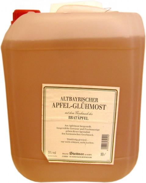 Altbayrischer Apfel-Glühmost Kanister