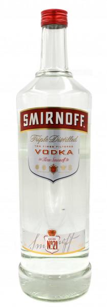 Smirnoff Vodka Red Label Grossflasche