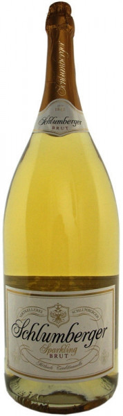 Schlumberger Brut Sekt Grossflasche 6-Liter, Jahrgang 2008 oder jünger incl. Geschenkkarton