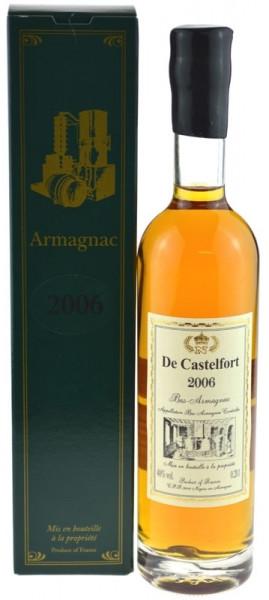 De Castelfort Armagnac Jahrgang 2006 - abgefüllt 2016 - 10 Jahre im Fass gelagert