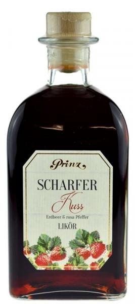 Prinz Scharfer Kuss - Erdbeer & rosa Pfeffer Likör