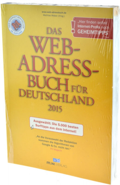 The web address book for Germany 2015