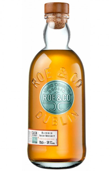 Roe & Co Cask Strength Edition 2019 Blended Whiskey 0,7l