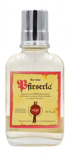 Prinz Pfirserla 0,1l Flachmann