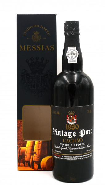 Messias Vintage Port 1980 Portwein